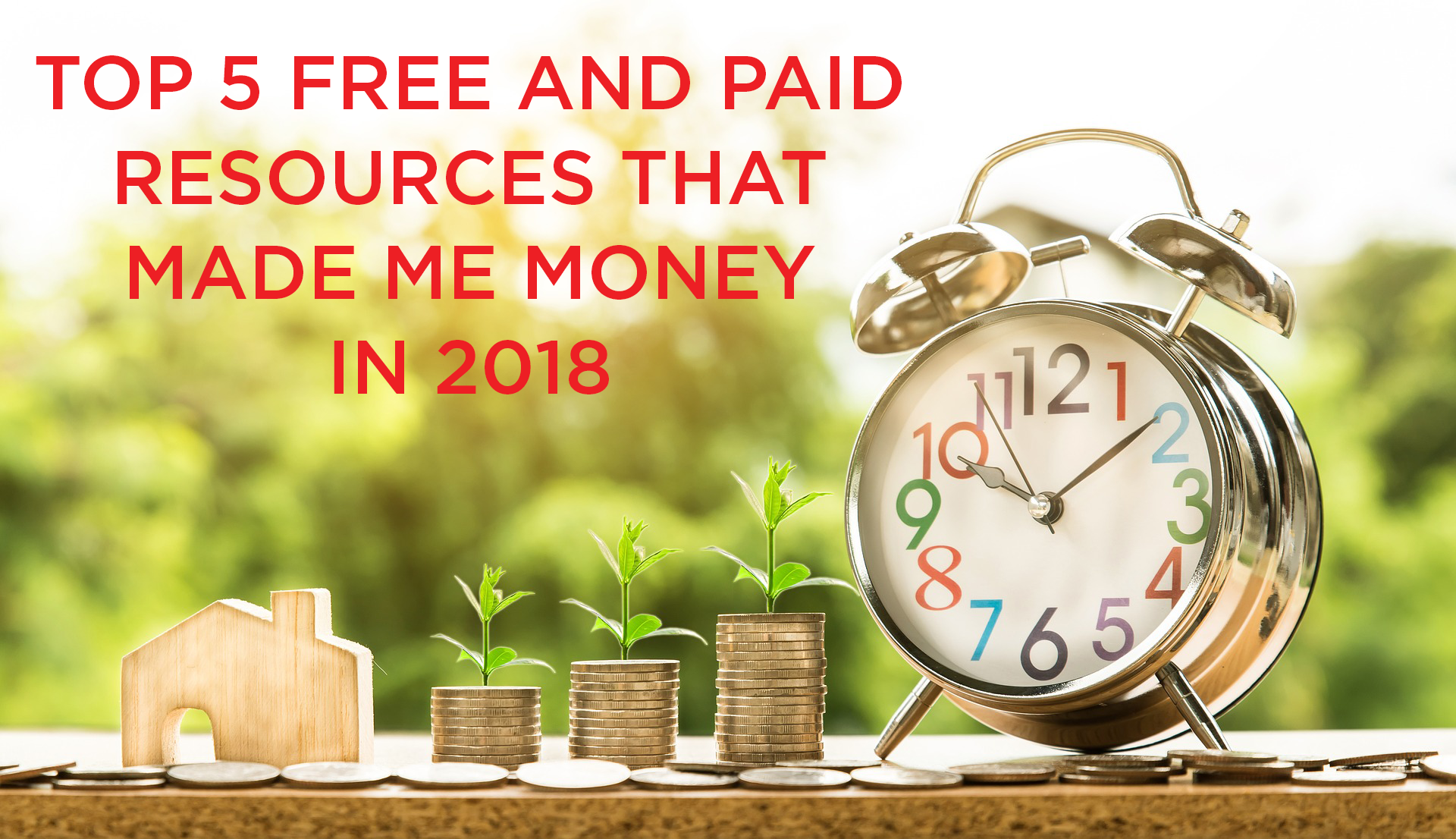 Read more about the article Top 5 Free and Paid Video Resources That Made Me Money in 2018