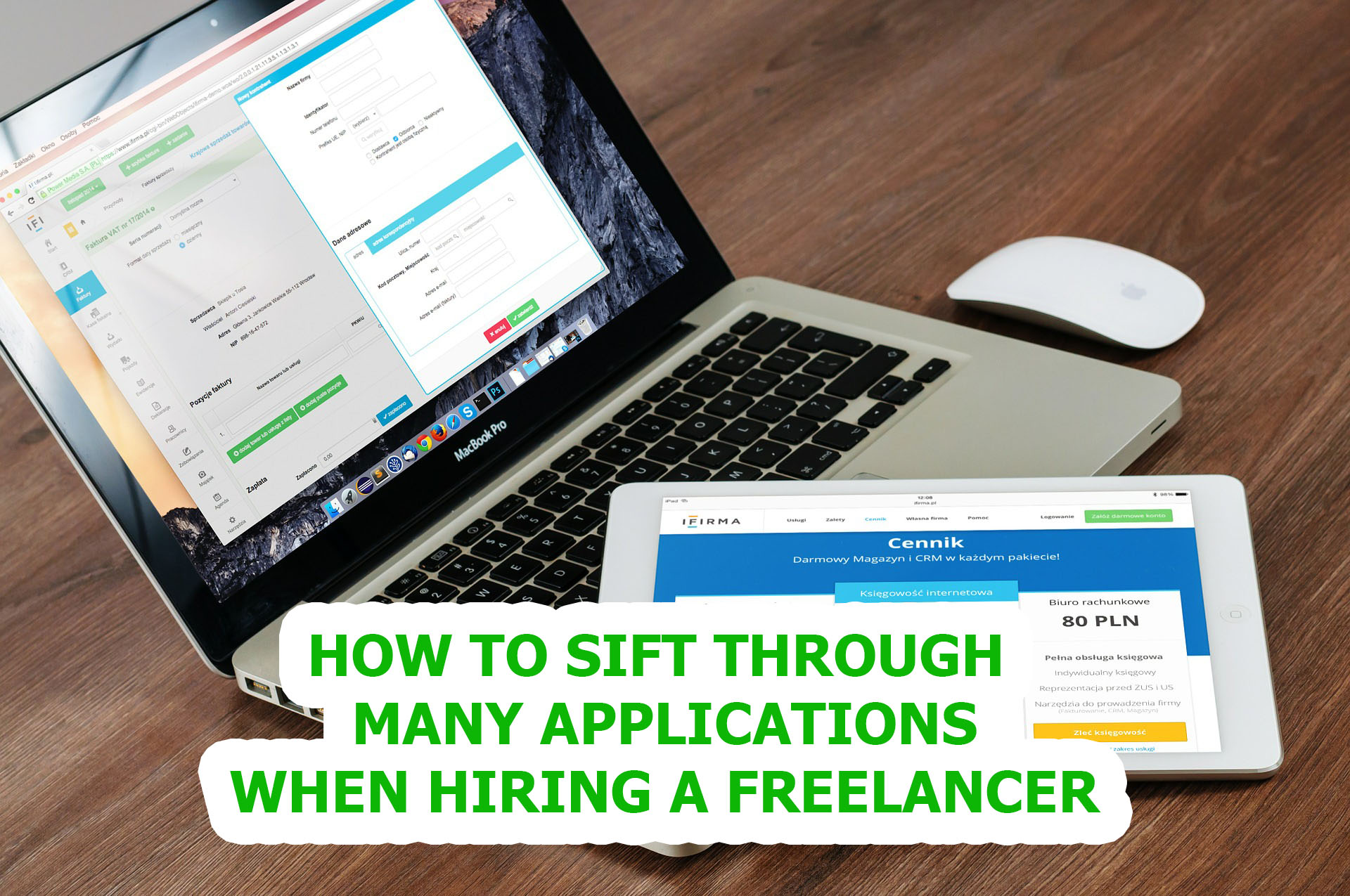 Read more about the article How to Sift Through Many Applications When Hiring a Freelancer