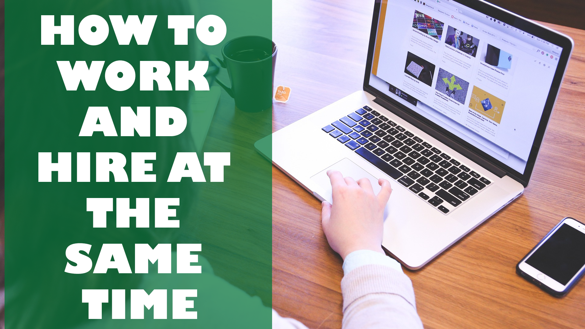 Read more about the article How to Work and Hire at the Same time as a Freelancer