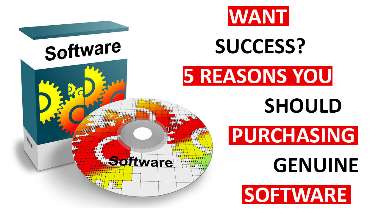 Five Reasons You Should Purchase Genuine Software to use in Your Freelance Business