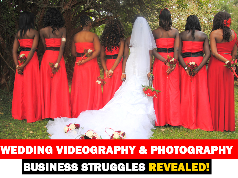 Hidden Struggles Many Wedding Videography and Photography Business Owners Go Through
