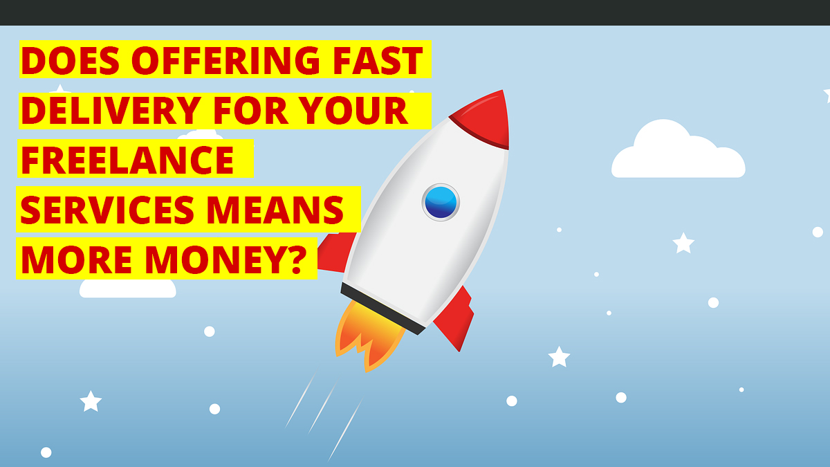 Read more about the article Does Fast Service Delivery  Mean More Money?