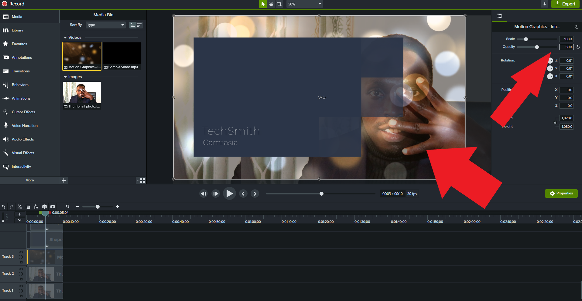 3 Ways To Customize Camtasia Studio Motion Graphics Templates in 2021