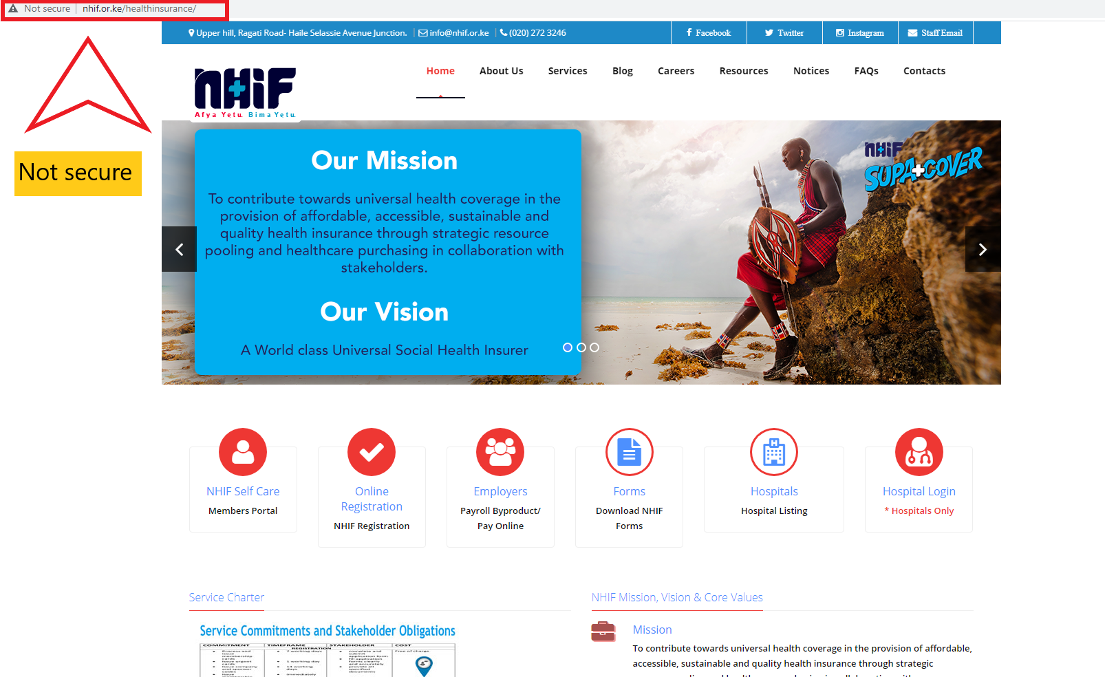 Read more about the article National Hospital Insurance Fund (NHIF) Online Portal Review
